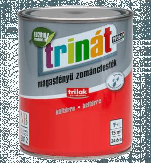 TRINÁT MAGASFÉNYŰ ZOMÁNCFESTÉK - Beltéri festékek - Fa - Fa - Fa - Felület típusa - Fém - Fém - Fém - Kültéri festékek - Márka - Trinát