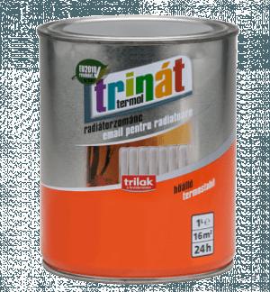 TRINÁT RADIÁTORZOMÁNC - Beltéri festékek - Felület típusa - Fém - Fém - Fém - Hígításmentes - Hígíthatóság - Kültéri festékek - Márka - Trinát