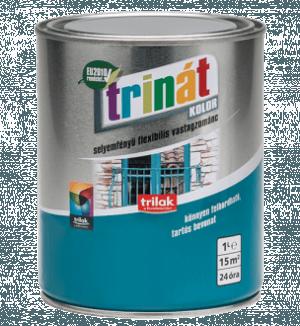 TRINÁT SELYEMFÉNYŰ ZOMÁNCFESTÉK - Beltéri festékek - Fa - Fa - Fa - Felület típusa - Fém - Fém - Fém - Hígításmentes - Hígíthatóság - Kültéri festékek - Márka - Trinát