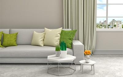 bézs beltéri falfesték a nappalihoz igazán passzoló szín