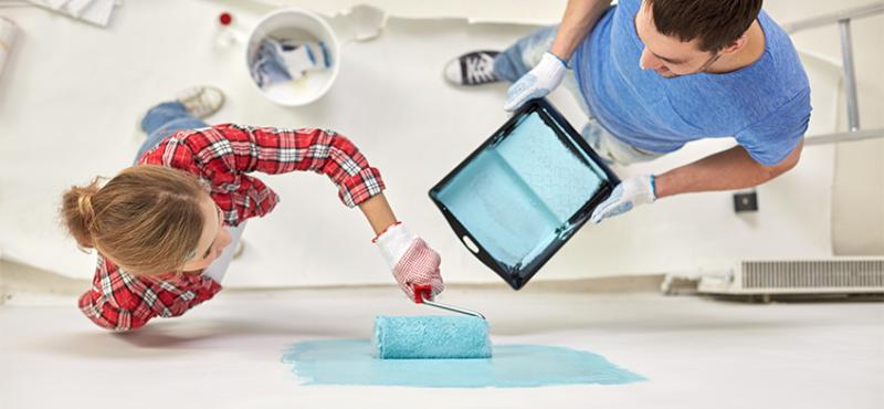 A beltéri falfesték otthoni használata – Csináld magad!