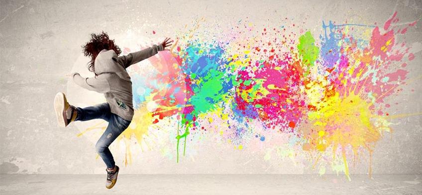 kreatív falfestési megoldások beltérre