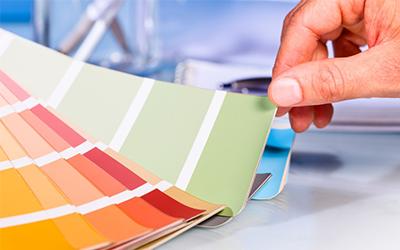 Válasszunk megfelelő színű beltéri falfestéket