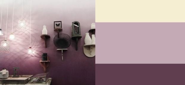 Így fess ombre stílusúra beltéri falfestékkel a falat! - Eredeti stílusjegyek megelevenítése beltéri falfesték segítségével lakásunkban.