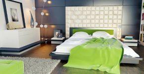 Egészítse ki beltéri falfestékkel kialakított szobáját falpanellel