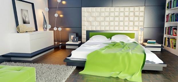 Falpanel: ha nem elégszel meg a beltéri falfestékkel - Egészítse ki beltéri falfestékkel kialakított szobáját falpanellel