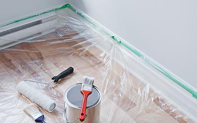 fontos a megfelelő előkészület a beltéri festés elótt